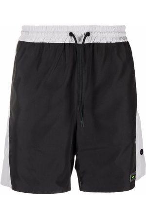 MSGM Men Sports Shorts - Drawstring track shorts