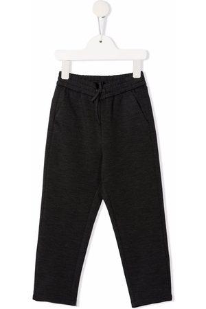 Bonpoint Drawstring track pants - Grey