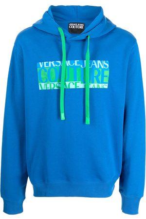 Versace Jeans Couture Men Hoodies - Long-sleeved logo hoodie