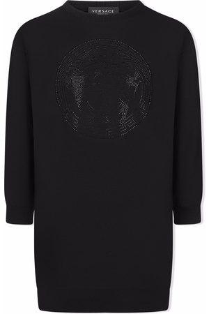 VERSACE Girls Casual Dresses - Medusa Head sweater dress
