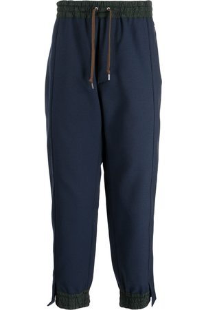 Kolor Men Sweatpants - Side stripe-print track pants