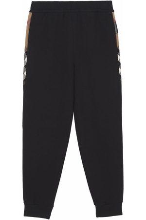 Burberry Women Sweatpants - Side stripe-detail track pants