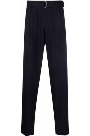 Altea Belted straight-leg trousersn