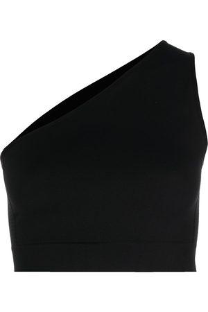 Rick Owens One-shoulder sports bra