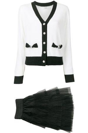 b+ab Women Loungewear - Contrast-trimmed two-piece set