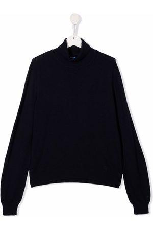 Fay Kids Turtlenecks - TEEN roll-neck knitted jumper