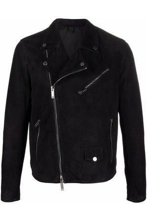 Tagliatore Men Leather Jackets - Goat leather biker jacket