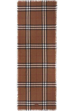 Burberry Scarves - Check-pattern scarf