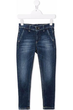 DONDUP KIDS Slim-cut denim jeans