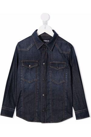 DONDUP KIDS Boys Denim - Button-up denim shirt