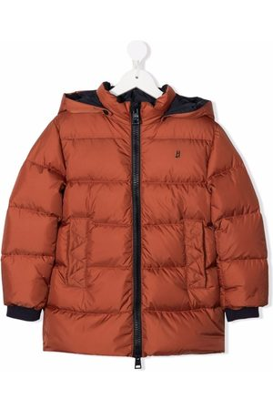 Herno Kids Boys Puffer Jackets - Padded zip-up down coat