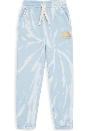 Tiny Whales Sports Pants - Little Boy's & Boy's Cirrus Tie-Dye Sweatpants