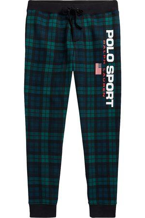 Polo Ralph Lauren Tartan Print Fleece Jogger Sweatpants