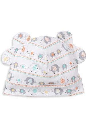 Kissy Kissy Baby's Elephant Echelon Print Novelty Hat
