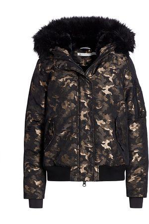 Blanc Noir Hayden Camo Bomber Jacket