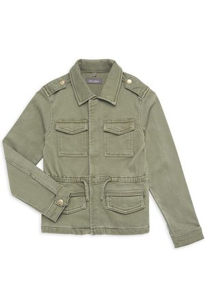 DL1961 DL1961 Premium Denim Girl's Rocco Military Parka Jacket