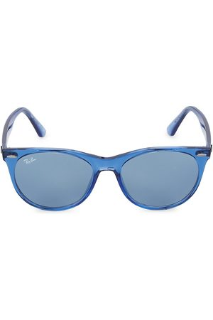 Ray-Ban RB2185 55MM Transparent Round Sunglasses
