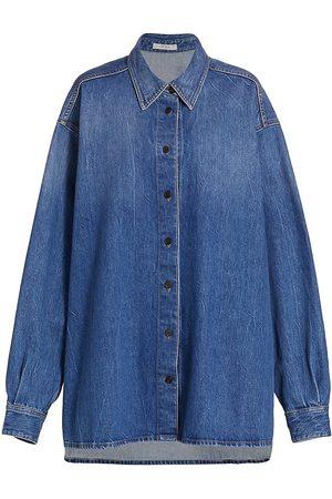 The Row Frannie Denim Shirt