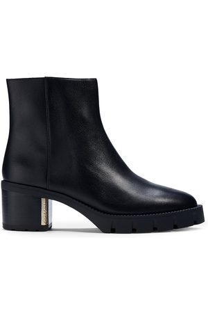 COACH Chrissy Leather Ankle Booties