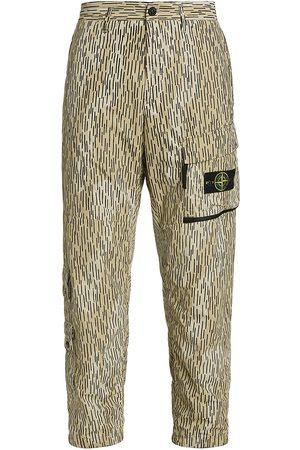Stone Island Camo Print Cargo Pants