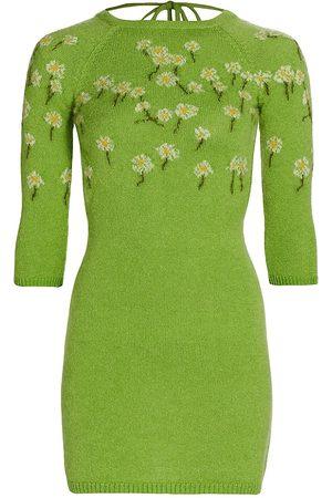 Bernadette Camilla Wool-Blend Sweaterdress