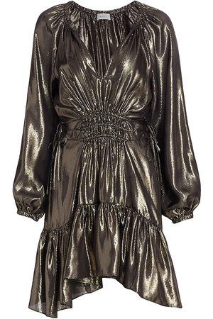 A.L.C. Suri Metallic Dress