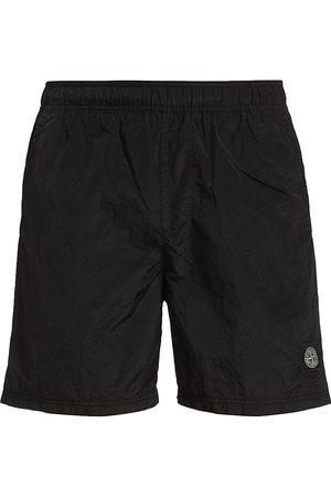 Stone Island Elastic Waistband Swim Shorts