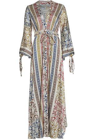 Silvia Tcherassi Inagua Silk Robe