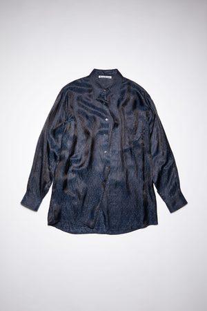 Acne Studios Men Long sleeves - FN-MN-SHIR000452 Paisley shirt