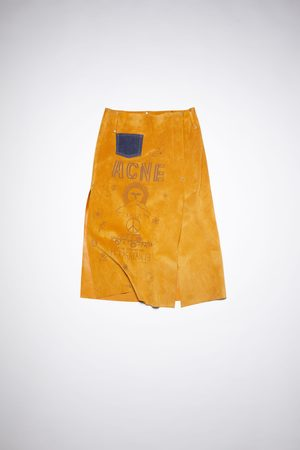 Acne Studios FN-WN-SKIR000312 Unlined suede skirt