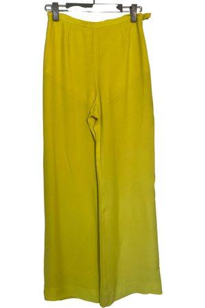 Emanuel Ungaro Silk straight pants