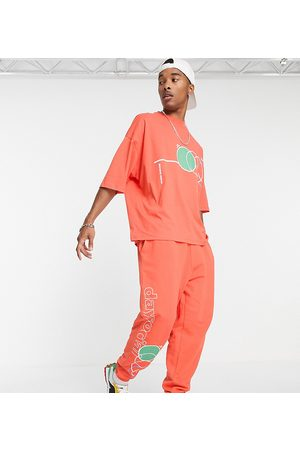 ASOS ASOS Daysocial oversized sweatpants with multi abstract shape print in - part of a set