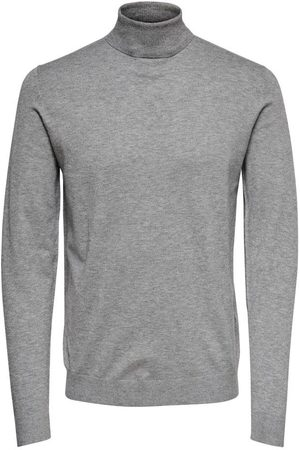 Only & Sons Mikkel rollneck sweater, Colour: PELICAN