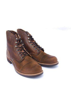 Red Wing Men Boots - Iron Ranger Boots - Copper Rough & Tough