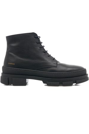 Copenhagen Lace up boots in leather