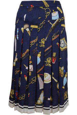 Moschino Twill skirt print objects