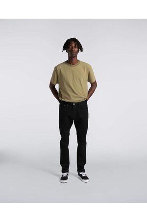Edwin Slim Tapered Kaihara, Black Stretch Denim, X White Selvage Black Rinsed Jeans