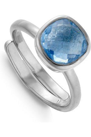 SVP JEWELLERY Women Rings - SVP Highway Star Iolite Quartz Ring