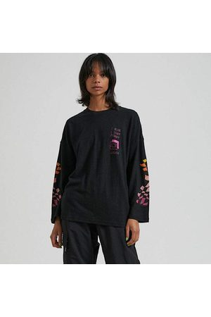Afends SWEETS HEMP OVERSIZED L/S TEE