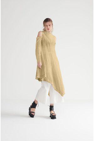 Symetria Women Dresses - Prism Dress - Sandstone