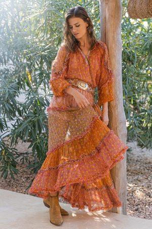 Miss June Las Dalias Skirt