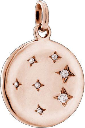 Women Necklaces - KIRSTIN ASH Constellation Circle Charm - Rose Gold