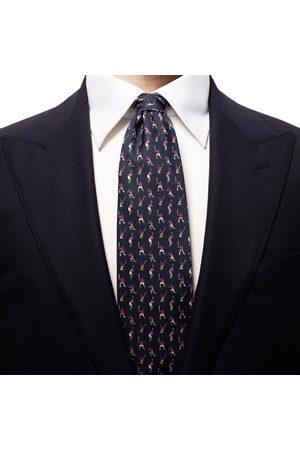 Eton Navy Cricket Player Silk Tie A0003226929