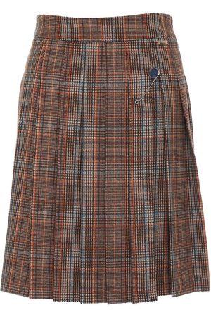 "LUIS TRENKER Women Pleated Skirts - Pleated skirt ""Kerria Karo"""