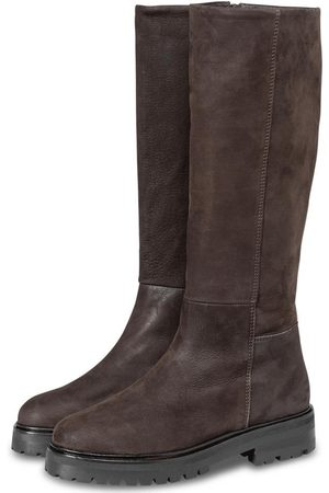 YAYA Women Thigh High Boots - Leather Boots