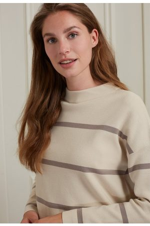 YAYA Women Long sleeves - Sweater with stripes and long sleeves