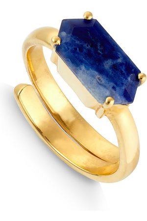 SVP JEWELLERY SVP Ilona Sodalite Vermeil Adjustable Ring