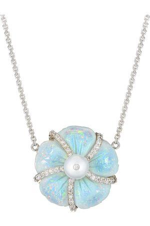 Guita M Opal Flower Necklace