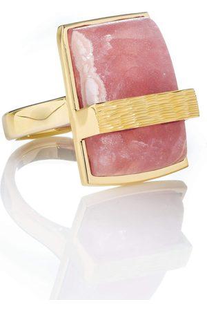 Guita M Women Rings - Rhodochrosite Rock Ring