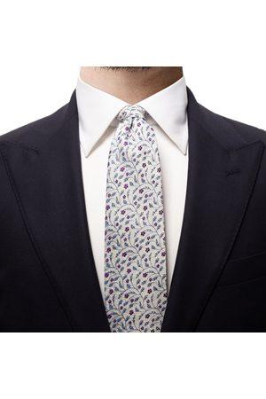Eton Flower Silk Blend Tie A0003240911